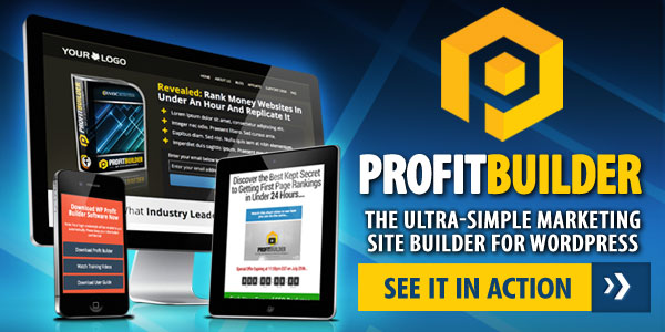 WP PROFIT BUILDER – Build Any Type Of Marketing Page You Can Imagine