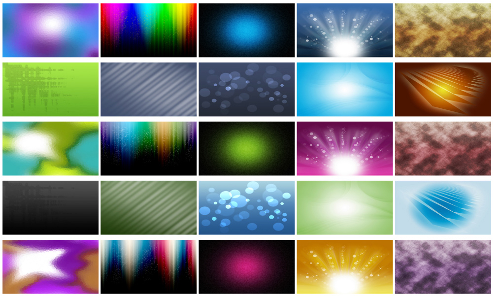 100 Backgrounds