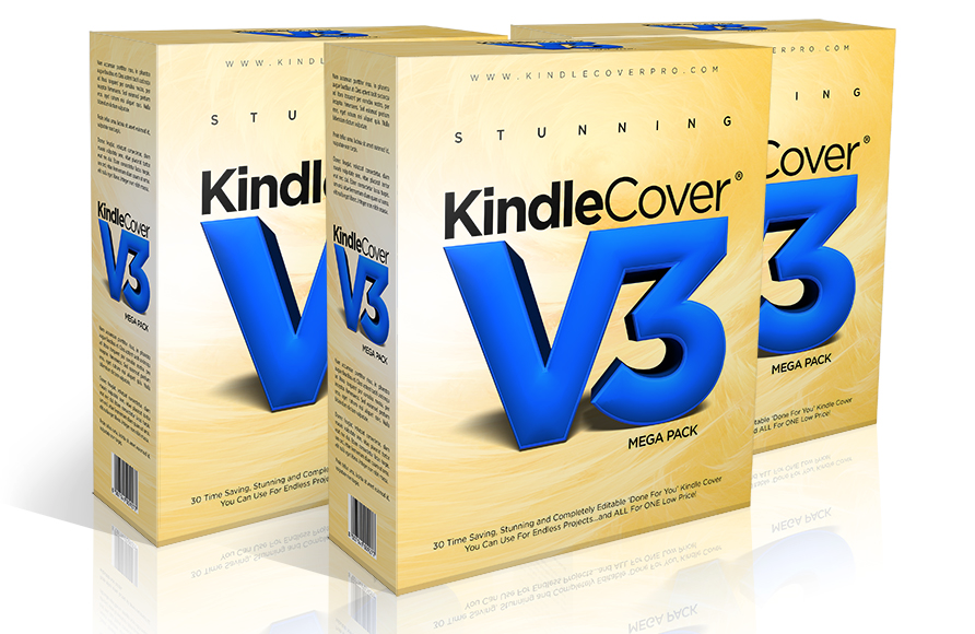 Stunning Kindle Covers V3 – A Must Have Template Bundle!