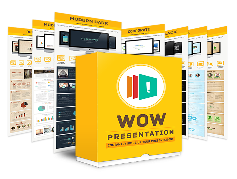 Wow Presentation – Create Stunningly Professional Presentations In Just Minutes!