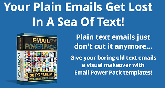 Email Power Pack – 30 Psd and Html Templates To Give Your Emails A Complete Makeover!