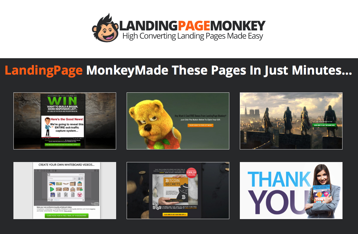 Stunning Landing Pages Quick and Easy With Just a Click of Your Mouse