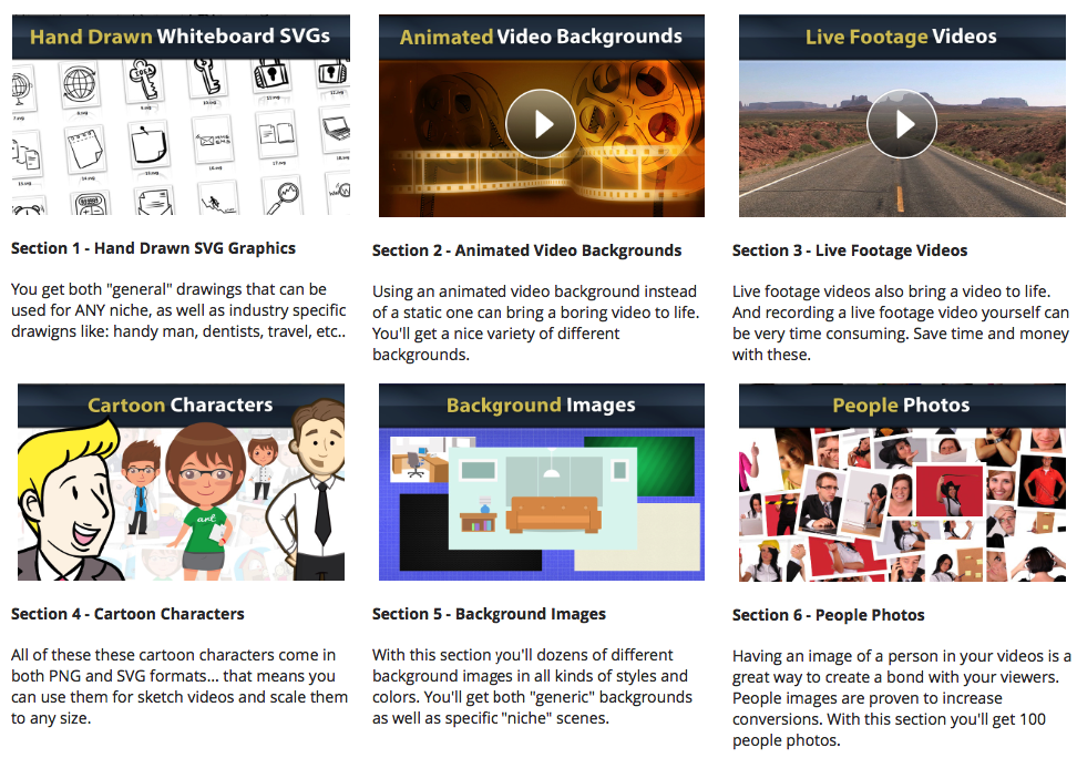 Video Maker Toolkit – Huge Video And Graphics Assets Collection!