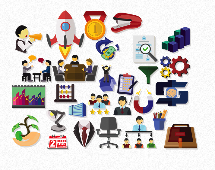 mod1 28 Business Icons by .